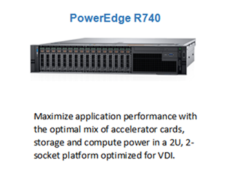 The hottest Server on Dell—PowerEdge R730/R740 Rack Server