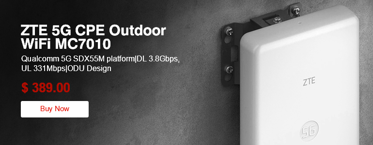 ZTE 5G CPE Outdoor WiFi MC7010
