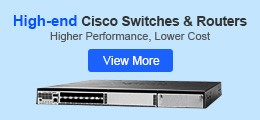 high end cisco routers and switches